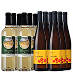 California Sampler 12-bottle set All White