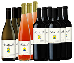 Bertinelli Estates Wine Set 12-Bottle Variety
