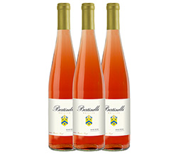 Bertinelli Estates Wine Set 3-Bottle Rose'
