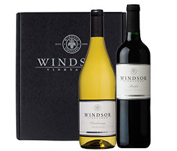 Windsor Winemaker's Choice Mixed 2-Bottle Gift Set - Red Box