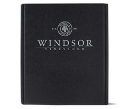 Windsor Vineyards Black Gift Box