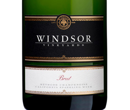 Windsor Brut, California, Platinum Series, 750ml