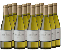 2014 Windsor Chardonnay, California, 375ml - Set of 12
