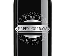 2015 Windsor Happy Holidays Etched Cabernet Sauvignon, Paso Robles, Private Reserve, 750ml