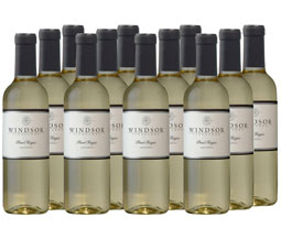 2015 Windsor Pinot Grigio, California, 375ml - Set of 12