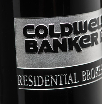 Coldwell Banker Etched Bottle