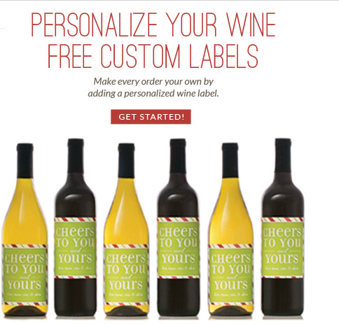 Personlize Your Wine - Free Custom Labels