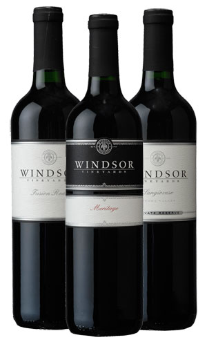 Windsor Vineyards Red Blends