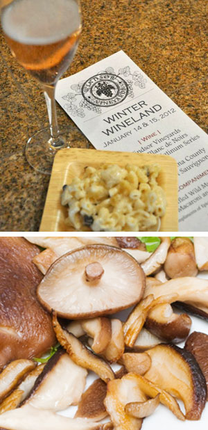 Truffled Wild Mushroom Mac'n'Cheese